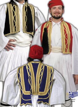 Παραδοσιακή Ενδυμασία ΓΕΛΙΚΑ ΕΥΖΟΝΙΚΑ ΧΡΩΜ